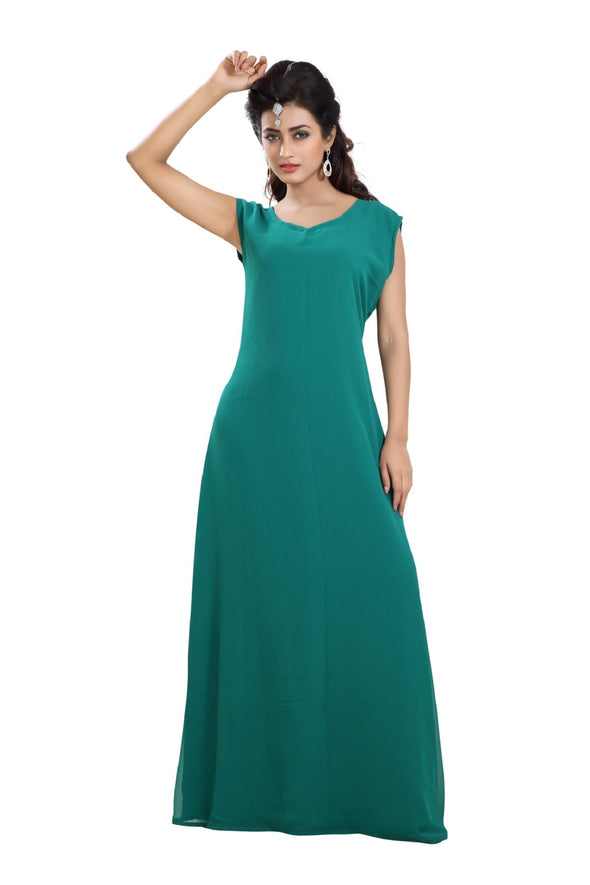 DAILY WEAR MAXI DRESS NIGHT GOWN - Maxim Creation