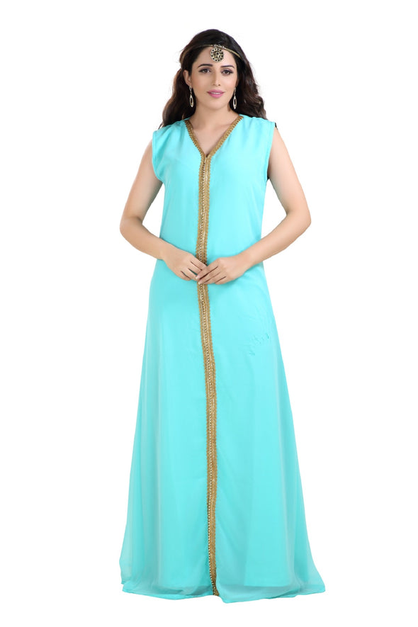 ARABIAN MAXI DRESS NIGHT GOWN - Maxim Creation