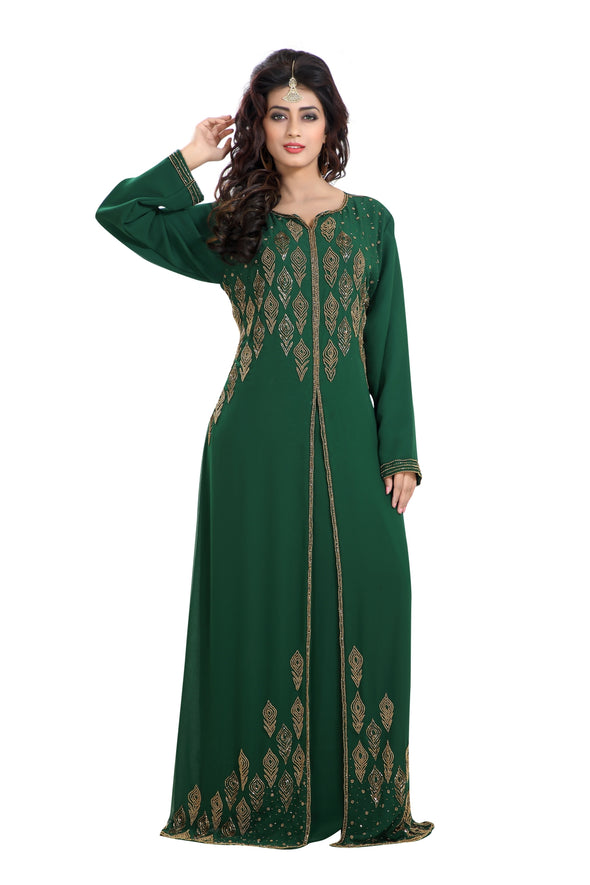 HAND EMBROIDERED ARABIC TRADITIONAL DRESS - Maxim Creation