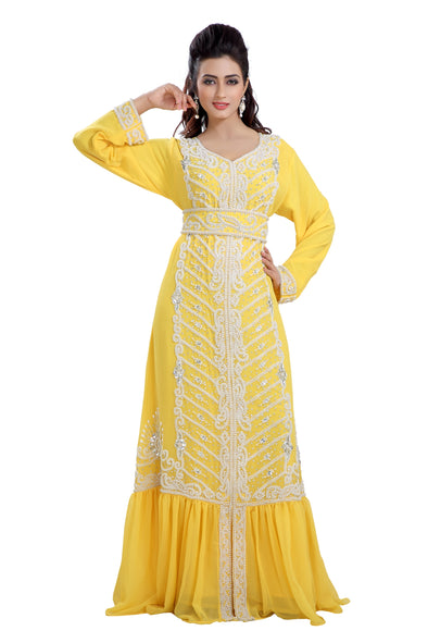 DUBAI TRADITIONAL WEAR JALABIYA ROBE MAXI 8195