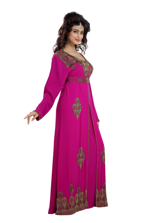 MOROCCAN WEDDING GOWN MAXI DRESS - Maxim Creation
