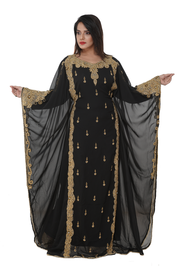 Customized Kaftan Dress For Mother of Bride - Maxim Creation
