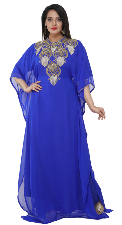 African Caftan Cocktail Party Gown Dress - Maxim Creation