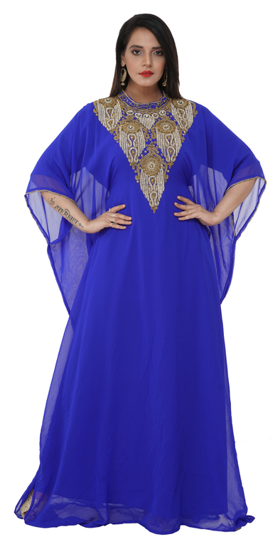Dubai Traditional Moroccan Caftan Dress - Maxim Creation
