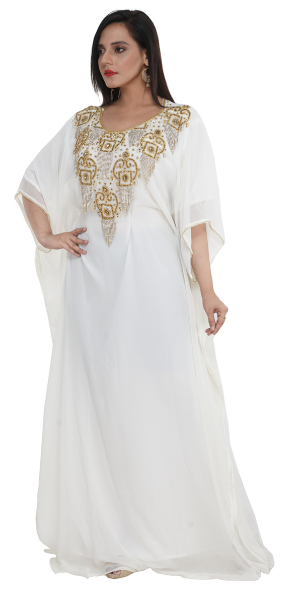Ancient Arabic Dress Evening Boho Gown - Maxim Creation