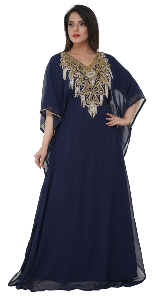 Plus Size Henna Party Gown Dress - Maxim Creation