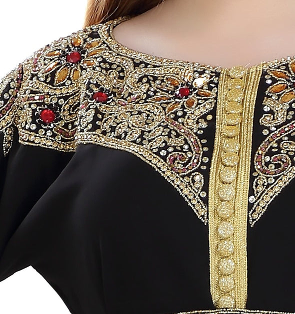 Traditional Arabic Abaya Dress - Maxim Creation