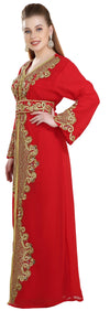 Henna Party Kaftan Dress - Maxim Creation