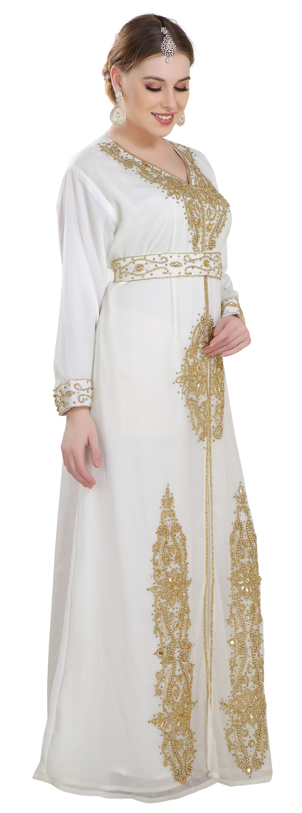 Modern Abaya Kaftan Gown - Maxim Creation