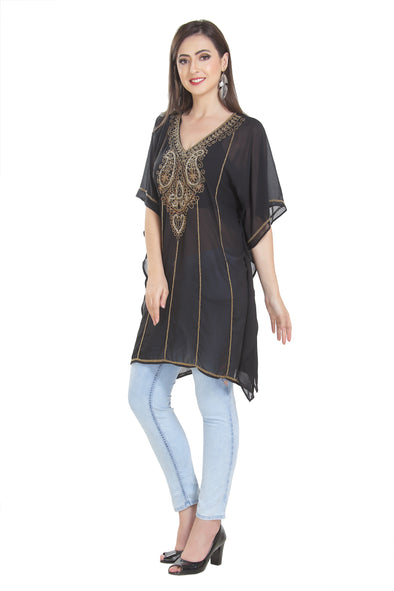 Short Length Maxi Hand Embroidered Kurti - Maxim Creation