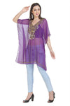 Hand Embroidered Kurti Short Maxi Dress 6513