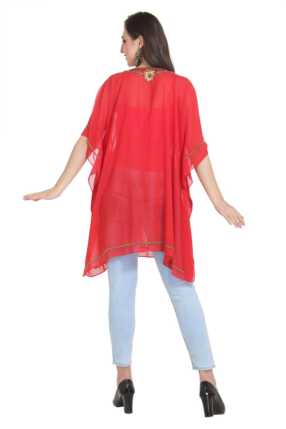 Lightweight Tunic Traditional Embroidered Kurti - Maxim Creation