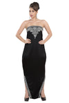 HAUTE COUTRE PROM DRESS BALL GOWN 5528