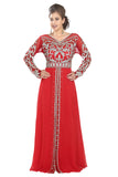 RED DRESS FOR THE BEST CHIC WEDDING LOOK 5547