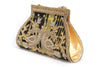 CRYSTAL BEADED BATWA STYLE PURSE - Maxim Creation