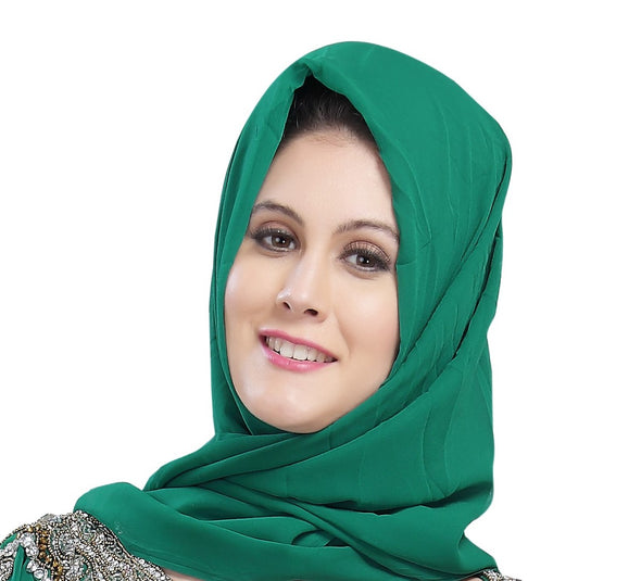 TRADITIONAL DRESS HIJAB DUPATTA S7 - Maxim Creation