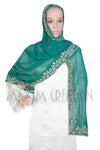WEDDING VEIL LARGE GEORGETTE DUPATTA S2 - Maxim Creation