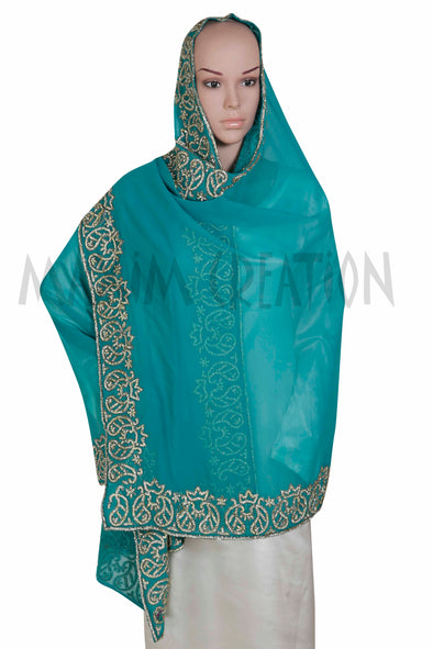 TRADITIONAL VINTAGE DUPATTA HIJAB S3 - Maxim Creation