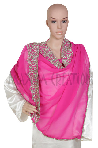 LARGE GEORGETTE SCARF DUPATTA S4