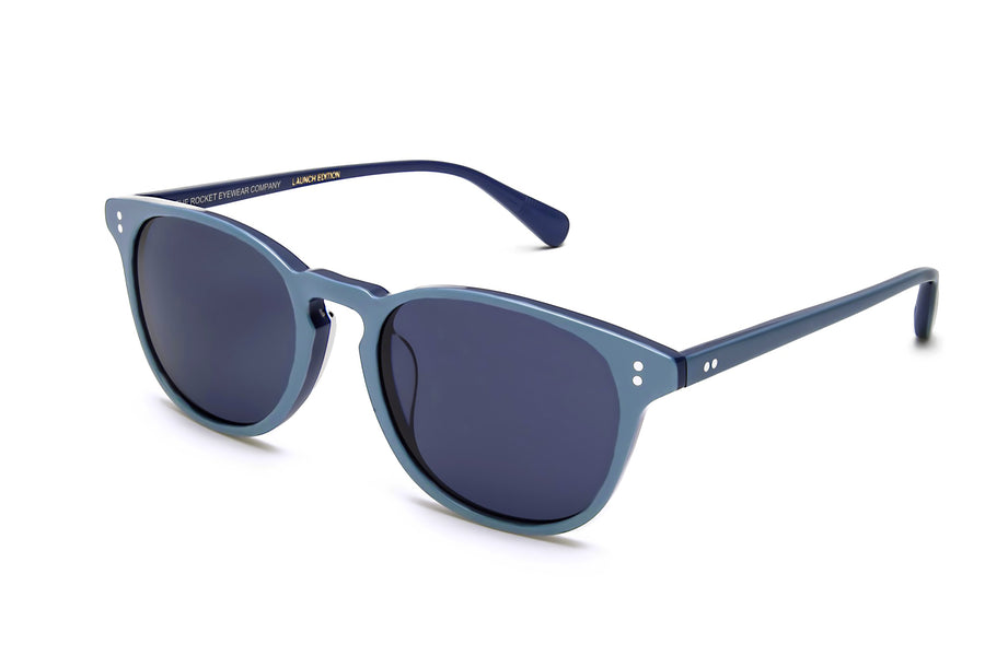 Rocket P3 Classic Light/Medium Denim with Blue Polarized Lenses (Launch Edition)
