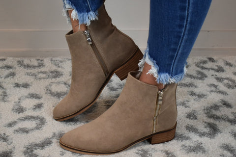 🎉SALE🎉 Simple Stroll Zipped Booties