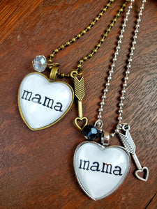 Mama Pendant Necklace