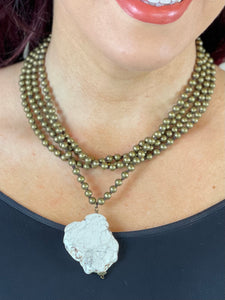 Stone Slab Necklace