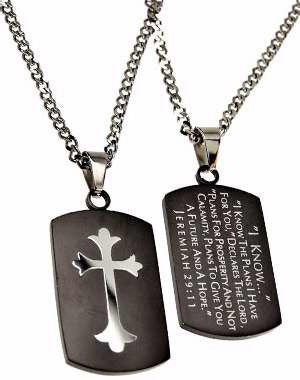 Jeremiah 29:11 Christian Necklace