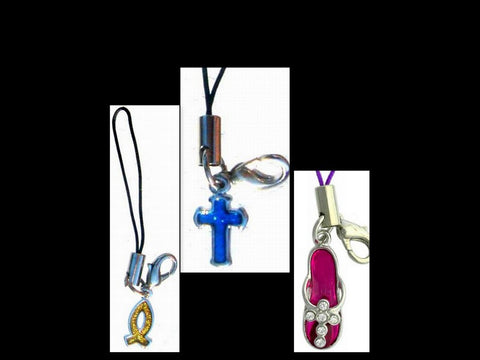 Christian Symbol Cell Phone Strap