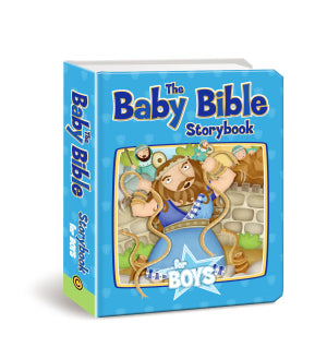 Baby Bible Story Book for Boys