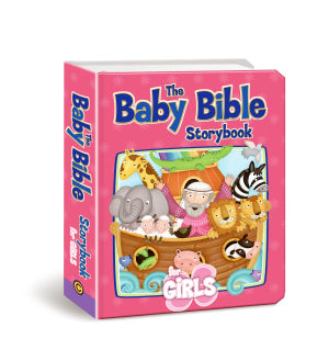 Baby Bible Story Book for Girls