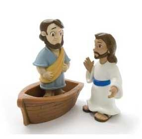 Jesus walks on Water Toys