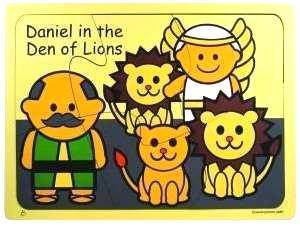 Daniel in the Lion's Den Wooden Puzzle