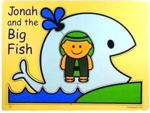 Jonah and the big Fish Wooden Puzzle