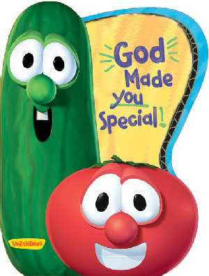 Veggie Tales: God Made You Special Board Book