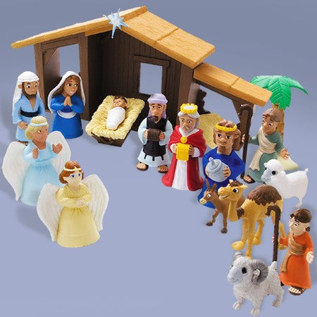Nativity Toy Set