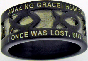 Amazing Grace Men's Ring