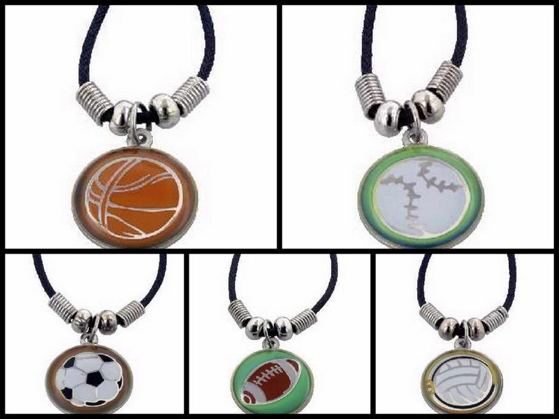 Color Change Sport Christian Necklace