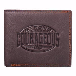Genuine Leather Wallet - Courageous