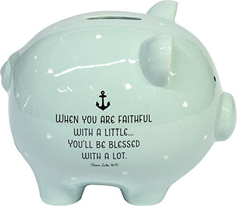 God's Little Man Piggy Bank