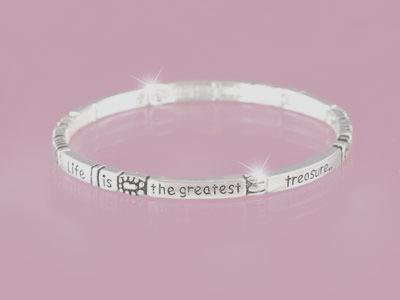 Life is the Greatest Gift Bracelet