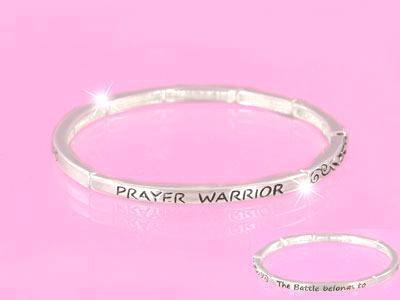 Prayer Warrior Christian Bracelet