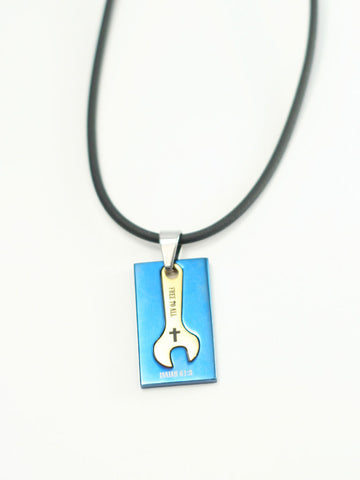 FREE to ALL Cross Pendant Necklace