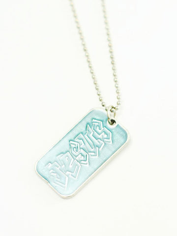 Graffiti Jesus Dog Tag