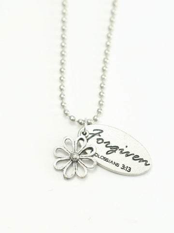 Flower/Forgiven 2 Necklace