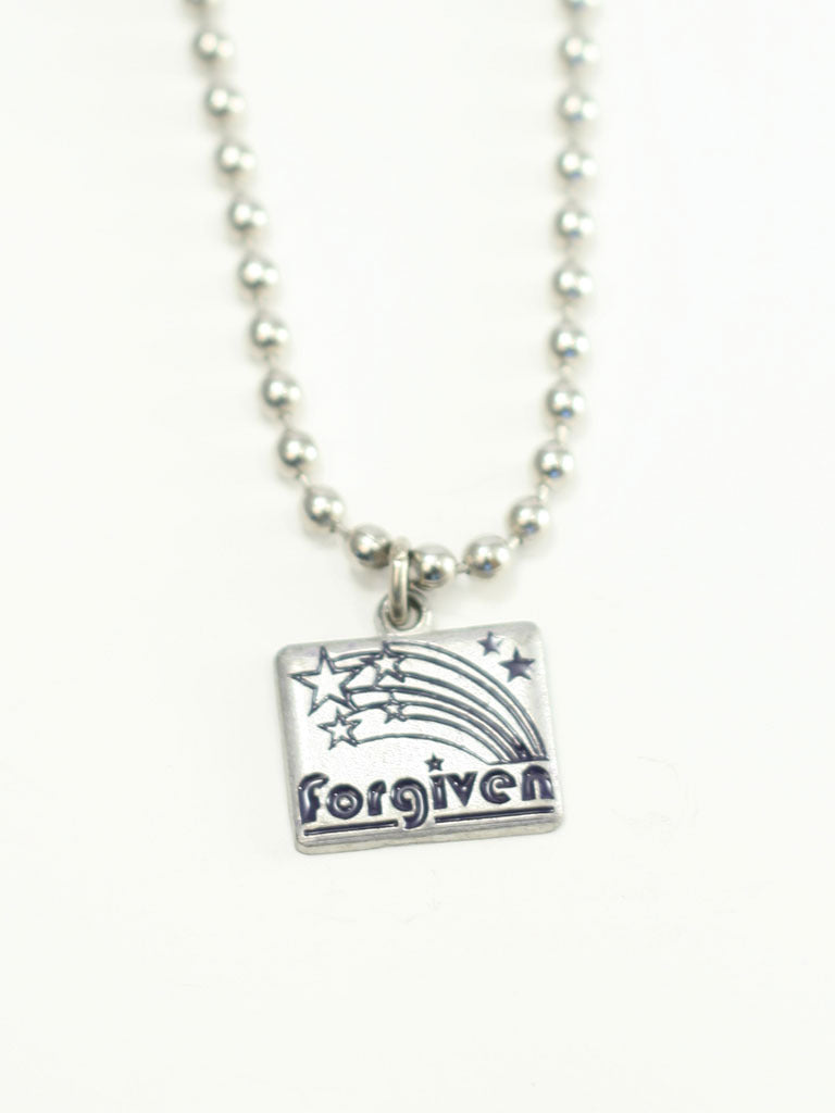 Forgiven Shooting Star Christian Necklace