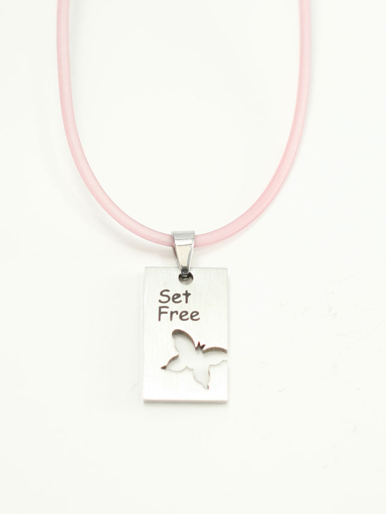 Set Free/BTRFLY Necklace