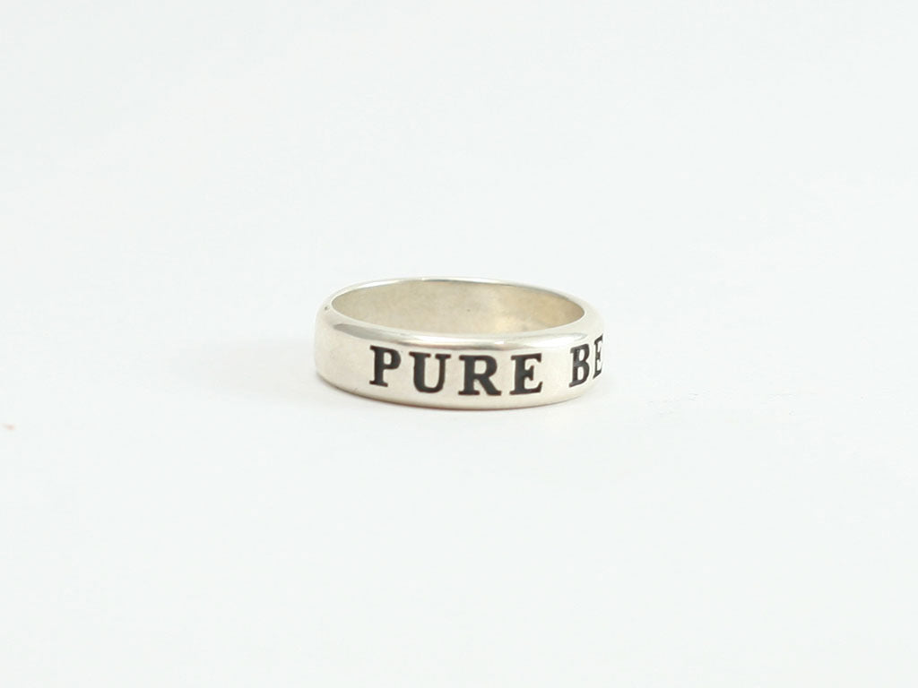 Pure Before God Sterling Ring