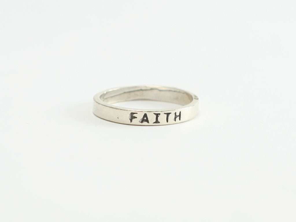 Faith Sterling Ring