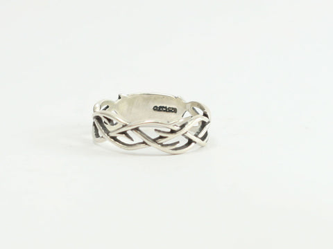 Small Crown of Thorns Sterling Ring
